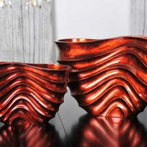 Hebi-wave vase