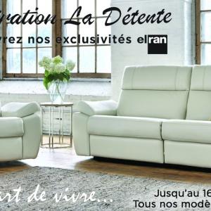 Rabais meubles Elran